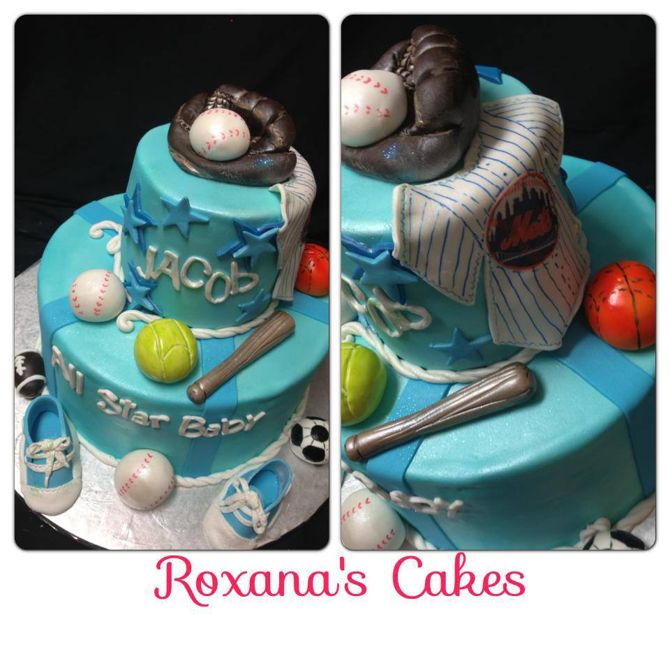 Wwwroxanascakescom Baby Shower Cake Candy Themed Picture